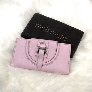 Meli Melo halo wallet blush